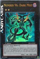 INGLESE Numero 96: Nebbia Oscura ☻ Ultra Rara ☻ ORCS EN043 ☻ YUGIOH ANDYCARDS
