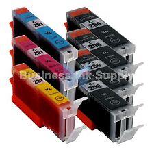 7 PACK CLI-251XL Ink Tank for Canon Printer PIXMA MG5520 MG7120 iP7220 CLI251XL