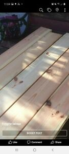 """Reclaimed ResawnOld Pine Boards 5"""" x 1""""Flooring/Cladding/Joinery"""
