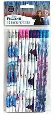 Disney Frozen 2 Pencils School Stationary Supplies Party Favors Gifts 12 Pieces