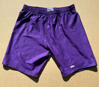 Vintage 90s / 80s Size Extra Large BIKE Athletic Purple Shorts New With Tags!