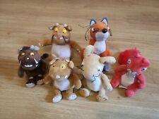 Julia donaldson Plush Bundle Gruffalo Aurora Soft toys Children's book A10