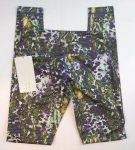 Lululemon Women's Wunder Under Pant*Fullux Floral W5H17S FSMU Size 6 NWT
