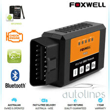 FOXWELL ELM327 OBD2 Bluetooth Car Diagnostic Code Reset Scanner Android Fits BMW