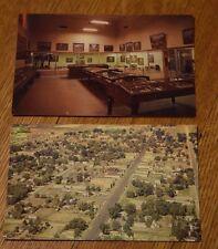 Vernal Utah Mid-Century Postcards Field House of Natural History Aerial View Vtg
