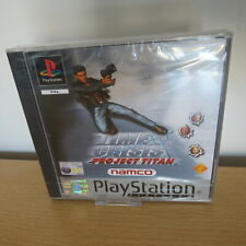 PS1 Time Crisis Project Titan Platinum, UK Pal,  New & Sony Factory Sealed