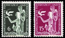 EBS Germany 1936 World Recreation Congress Michel 622-623 MH*
