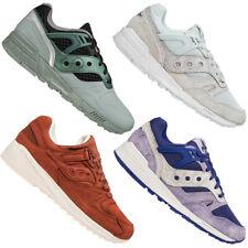 Saucony Grid SD or District señores Mode zapatos zapatillas rojo verde gris NUEVO