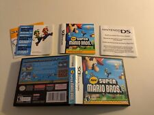 NEW SUPER MARIO BROS. BROTHERS 1 NINTENDO DS DSI NRMT COMPLETE IN BOX!