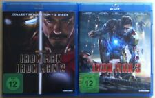Iron Man Trilogie | Teil 1 + 2 + 3 | Robert Downey Jr. | Blu-ray Bundle Sammlung