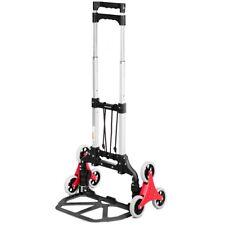 Carrello portatile pieghevole, scalatore, in alluminio, 6 ruote 60kg-GREENCUT