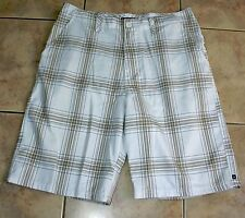 Quiksilver Men's Casual Shorts - Size 33 - Polyester and Viscose