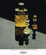 PUBLICITE ADVERTISING 035 1978  ROCHAS  eau de toilette MONSIEUR