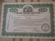 USA  -  5  x  Trans Empire Oils  Ltd. Calgary, Alberta   1950er  10/543