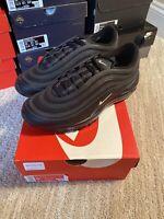 Nike Air Max 97 Black White Anthracite 921826-015 Men's Size 9.5