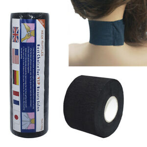 1Roll Disposable Stretchy Neck Paper Strips Barbershop Hairdressing Barber Tool