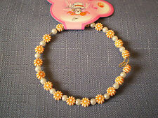 Orange Flower Bangle - B92