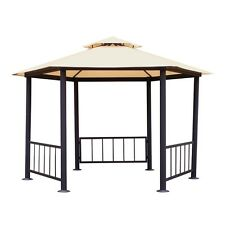 Authentic Mimosa Hexagonal Gazebo Replacement CANOPY ONLY -New Outdoor living