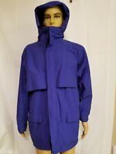 Vintage Eddie Bauer Gore Tex Rain Jacket Windbreaker Coat Vented Hooded Mens Med