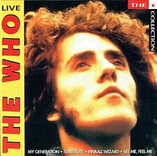(CD) The Who - Live -My Generation, Pinball Wizard, Summertime Blues,Substitute
