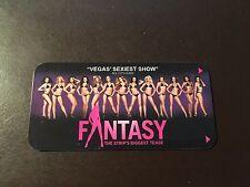 """Luxor Hotel - Las Vegas - """"Fantasy"""" collectors hotel room key card"""