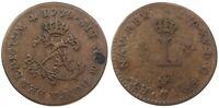 French Colonies 1739-V Billon Sous Marques. Vlack 193. Rarity-2