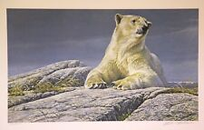 Robert Bateman, Summertime Polar Bear - S/N LE Lithograph