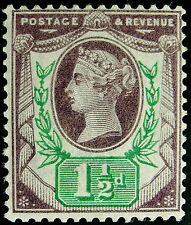 Lightly Hinged Victorian (1837-1901) Great Britain Stamps
