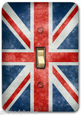 British Britain England Flag Metal Switch Plate Cover Single Home Decor 405