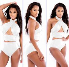 New Women Bandage Push up Monokini Bikini Swimwear Swimsuit bathing Suit