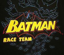 BATMAN RACE TEAM monster truck XL tee 2007 World Finals beat-up T shirt DC Comic