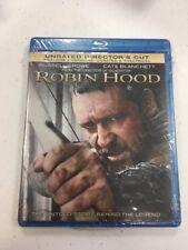 Robin Hood (Blu-ray Disc, 2010, 2-Disc Set) BRAND NEW SEALED L@@K