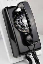 Antique Telephone Western Electric 554 - Black - Fully Refurbished - SKU 22014