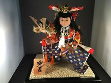 Beautiful Japanese Samurai Kabuto Sashi warrior doll