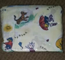 New Package Winnie Classic Pooh Bed Skirt Twin Size Disney Four Seasons #1979