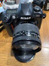 Nikon D D100 6.1MP Digital SLR Camera - Black (Kit w/ AF-S 24-120mm Lens)