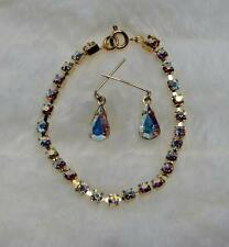 """CrystalAB Rhinestone Jewelry Necklace Earring for Cissy 18-22"""" Miss Revlon Doll"""