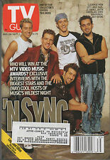 2000 TV Guide VMA-Zing NSYNC Aug 26- Sept 1 One of 5 Collector's this week