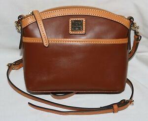 Dooney & Bourke Wexford Leather Mini Domed Crossbody Shoulder Bag LN