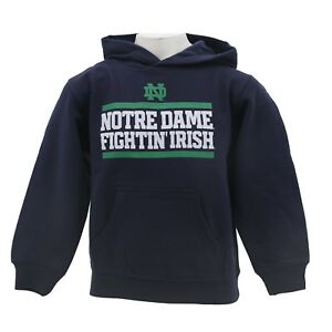 Notre Dame Fighting Irish Youth Kids Size NCAA Official Hooded Sweatshirt New