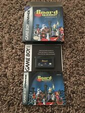 Board Game Classics (Nintendo Game Boy Advance Gameboy) Complete in Box