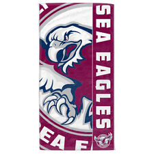 Manly Warringah Sea Eagles NRL Beach Bath Gym Towel Christmas Gift