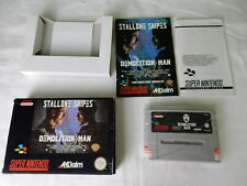 Demolition Man für SNES - Super Nintendo - CIB - PAL - OVP