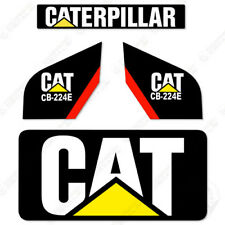 Caterpillar CB224E Decal Kit New Style Vibratory Smooth Drum Roller CB 224 E
