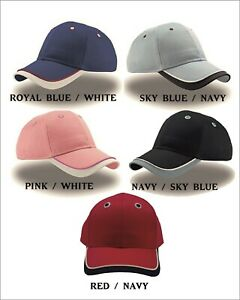 Personalised Kids Children's Embroidered base ball cap Add your text.