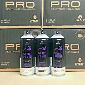 3x Mtn Pro Anti Rust Primer Spray by Montana Colors - 400ml