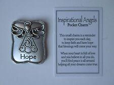 zzd Hope angel Inspirational Angels Pocket Token Charm ganz inspire love peace