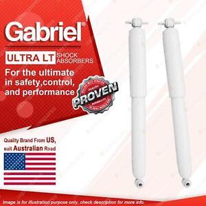 2 x Rear Gabriel Ultra LT Shock Absorbers for Chevrolet Suburban K1500 Tahoe