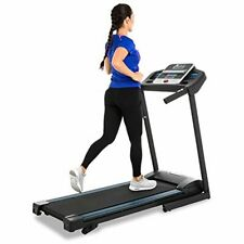 Treadmill Foldable Heavy-Duty Steel Frame, Fitness Electric Running Machine LCD