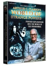 ARTHUR C CLARKE'S World of Strange Powers the complete series. 2 discs. New DVD.